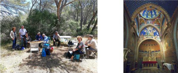 pikniko kaj Frigolet